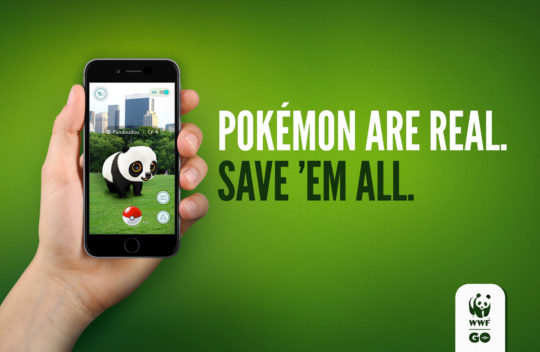 Los Pokémon son Reales, Sálvalos a Todos.